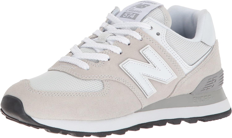 New Balance - - Frauen 574 WL574 Schuhe, 36 W EU, Weiß    Reichlich Und Pünktliche Lieferung