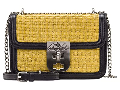 Patricia Nash Roanne Crossbody (Rattan/Black) Bags
