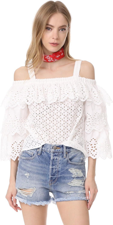 Endless pink Womens Cold Shoulder Knit Blouse