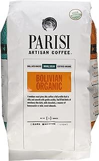 Parisi Artisian Coffee 32 Oz., Bolivian Organic, Whole Bean