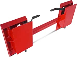 Titan Attachments Universal Skid Steer Quick Tach Conversion Adapter Plate Bobtach Blank QTA