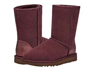 UGG Classic Short II Metallic (Wild Grape) Women