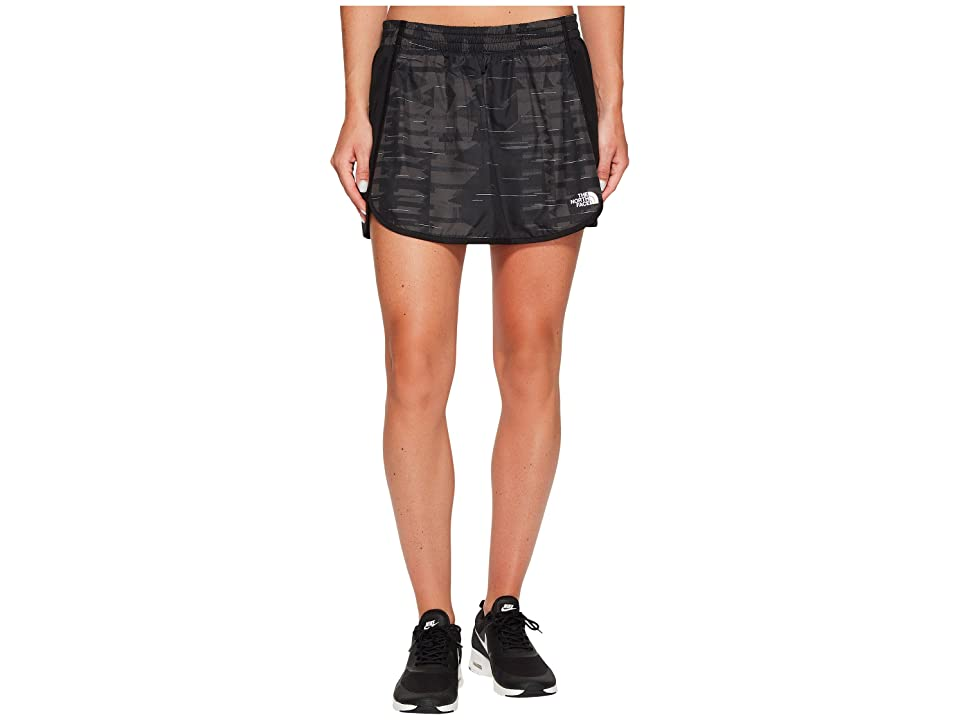 The North Face Rapida Skirt (TNF Black Reflective Print (Prior Season)) Women
