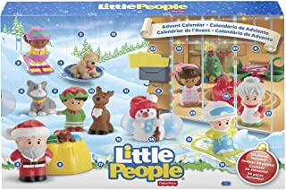 Fisher-Price Little People Advent Calendar, Count Down to Christmas with Your Toddler's Favorite Little People Friends & F...