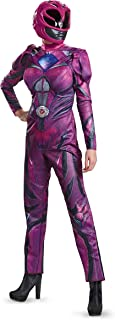 Disguise Women's Pink Ranger Movie Deluxe Adult Costume