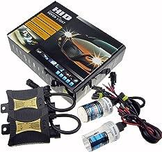 Sipobuy 12V 55W HID Xenon Kit de Conversión Faro Vehículo Car Lámpara de Repuesto, H7 6000K/blanco