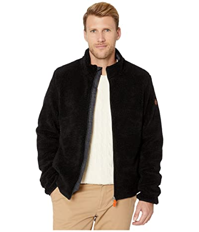 Save the Duck Bear 9 Faux Sherpa Jacket (Black) Men
