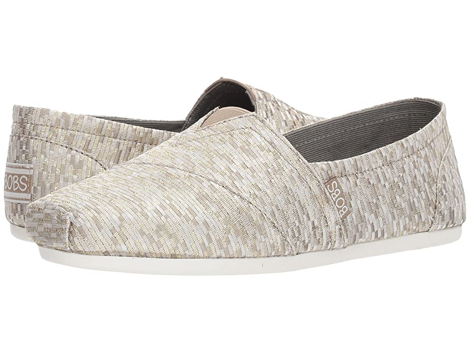 BOBS from SKECHERS Bobs Plush Jacquardy Party (Natural) Women