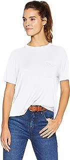 Amazon Brand - Daily Ritual Women's Jersey Short-Sleeve Crewneck Boxy Pocket T-Shirt