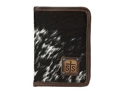 STS Ranchwear Magnetic Wallet/Travel/Passport Case (Cowhide) Wallet Handbags