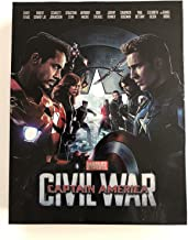 CAPTAIN AMERICA: CIVIL WAR [3D Blu-ray + 2D Blu-ray BLUFANS Steelbook FULL SLIP Edition; Region-Free; Sold Out]