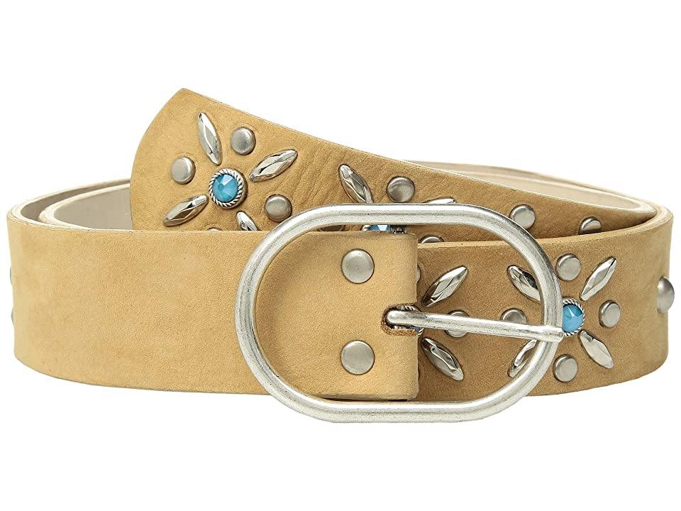 Leatherock Claire Belt (Dark Beige) Women
