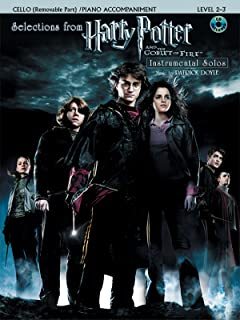 String Selections from Harry Potter and the Goblet of Fire: Cello, Book & CD