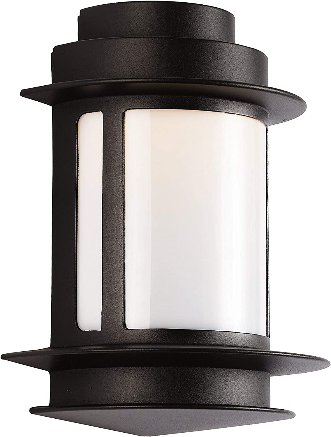 Unknown1 One Light Wall Lantern Black Chrome Traditional Ranking integrated 1st place Size Raleigh Mall