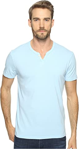 Lucky Brand Button Notch Tee