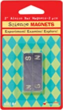 Dowling Magnets Alnico Bar Magnet (1.88 inches long x .46 inch wide x .24 inch thick), Set of 2