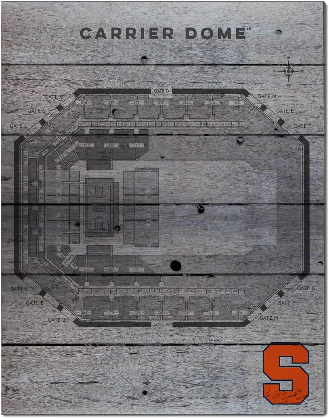 KH Sports Fan Portland Sale SALE% OFF Mall 16x20 Pallet Pride - Seating Basketball Syra Chart