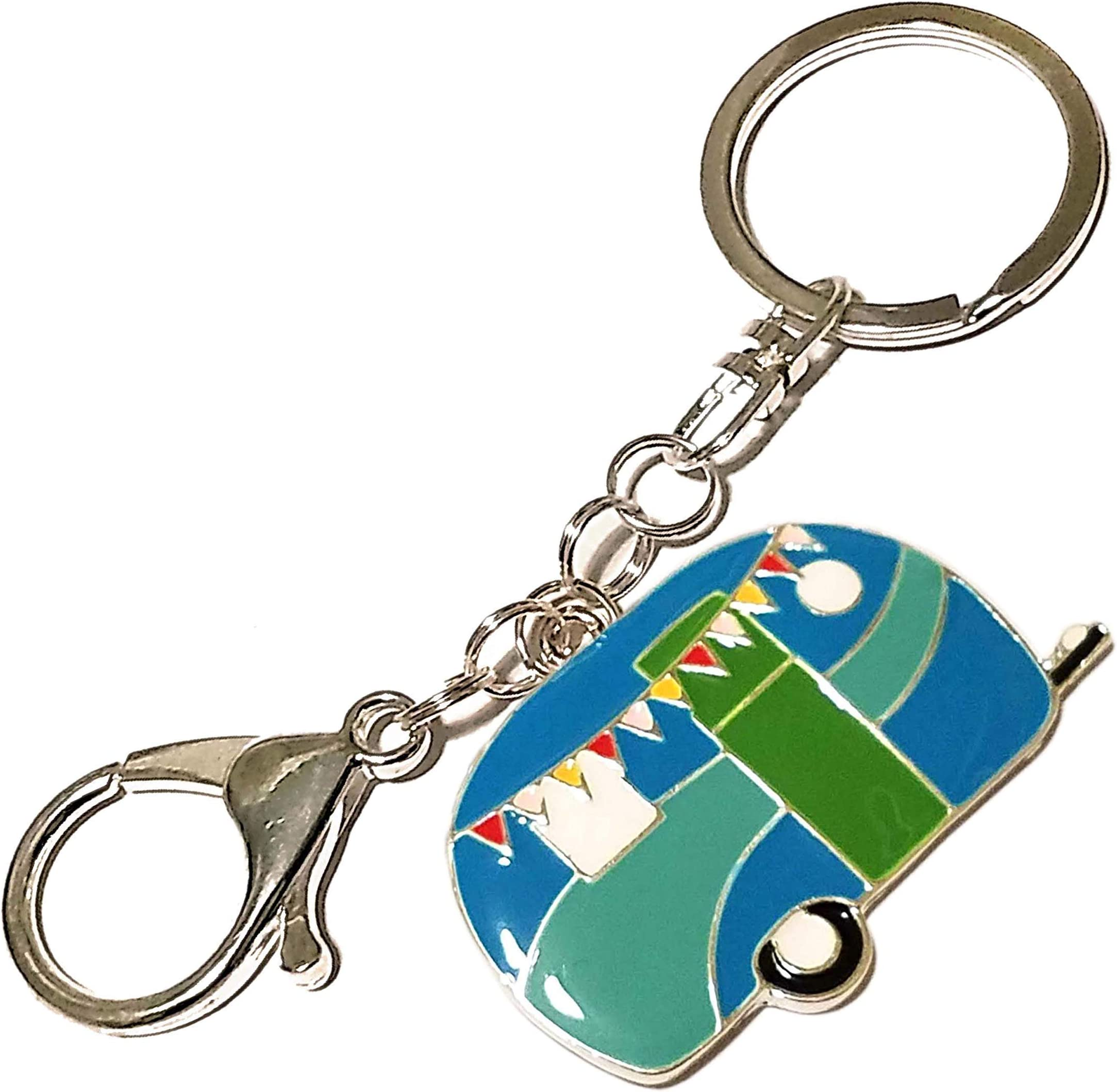Charms: Camper; Glass of Red Wine; Stainless Steel Engraved Word Charm Happy Camper Jewelry Kilt Safety Pin Purse Backpack Charm Bag