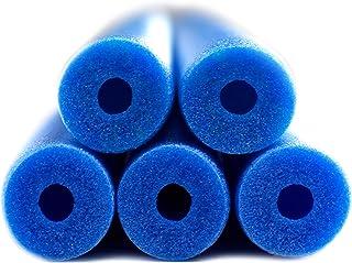 "Fix Find 48 Inch Colorful Foam Pool Swim Noodle 5 Pack in Blue 48"""