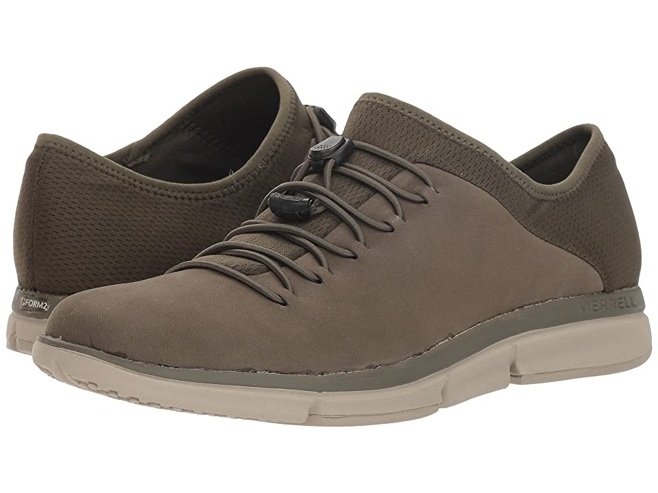 Merrell Zoe Sojourn Lace Leather Q2 (Dusty Olive) Women