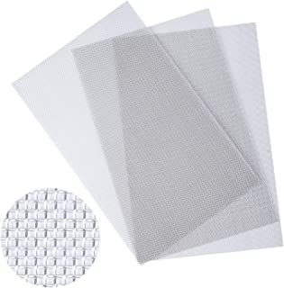 """3 PCS TOPODO 304 Stainless Steel Woven Wire 20 Mesh, 12""""x 8"""", 1mm Hole 0.4mm Wire Coarse, Open Area 52%"""