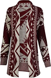 Best tribal open front cardigan Reviews