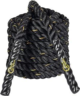 Display4top 9 m/12 m/15 m Battle rope, styrketräning, kondition, styrka, explosivitet och rörlighet, fitnessträning. 38mm...