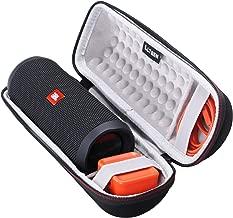 LTGEM Case for JBL Flip 3/4 Waterproof Portable Speaker. Fits USB Cable and Charger