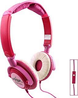 Qulmax ® Vodafone Smart Prime 6 Smartphone 5 Inch Rosa Plegable Giratoria Auriculares HD ( HSQ09 ) con Micrófono y Mando