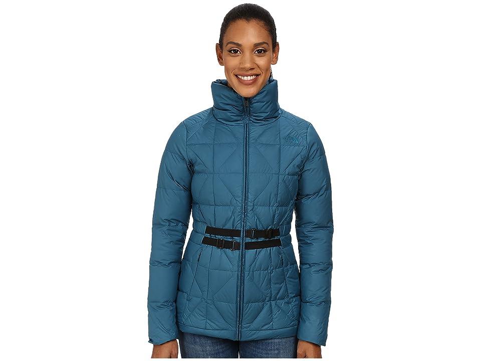 The North Face Belted Mera Peak Jacket (Juniper Teal (Prior Season)) Women