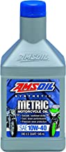 Amsoil MCFQT-EA 10W-40 Synthetic Metric Motorcycle Oil