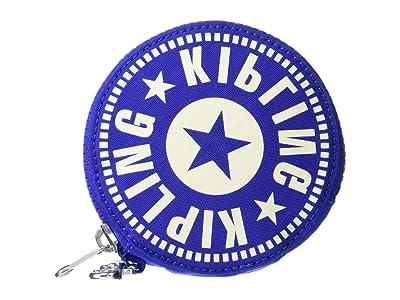 Kipling New Classics Marguerite Zip Pouch (Laser Blue) Handbags