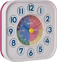 Seiko Wall Clock White and Pink Colour - Qha004pl