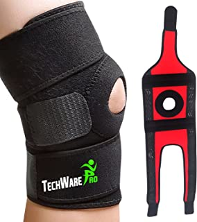 TechWare Pro Knee Brace Support – Relieves ACL, LCL, MCL, Meniscus Tear, Arthritis,..