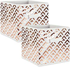 DII Fabric Storage Bins for Nursery, Offices, & Home Organization, Containers Are Made To Fit Standard Cube Organizers (13...