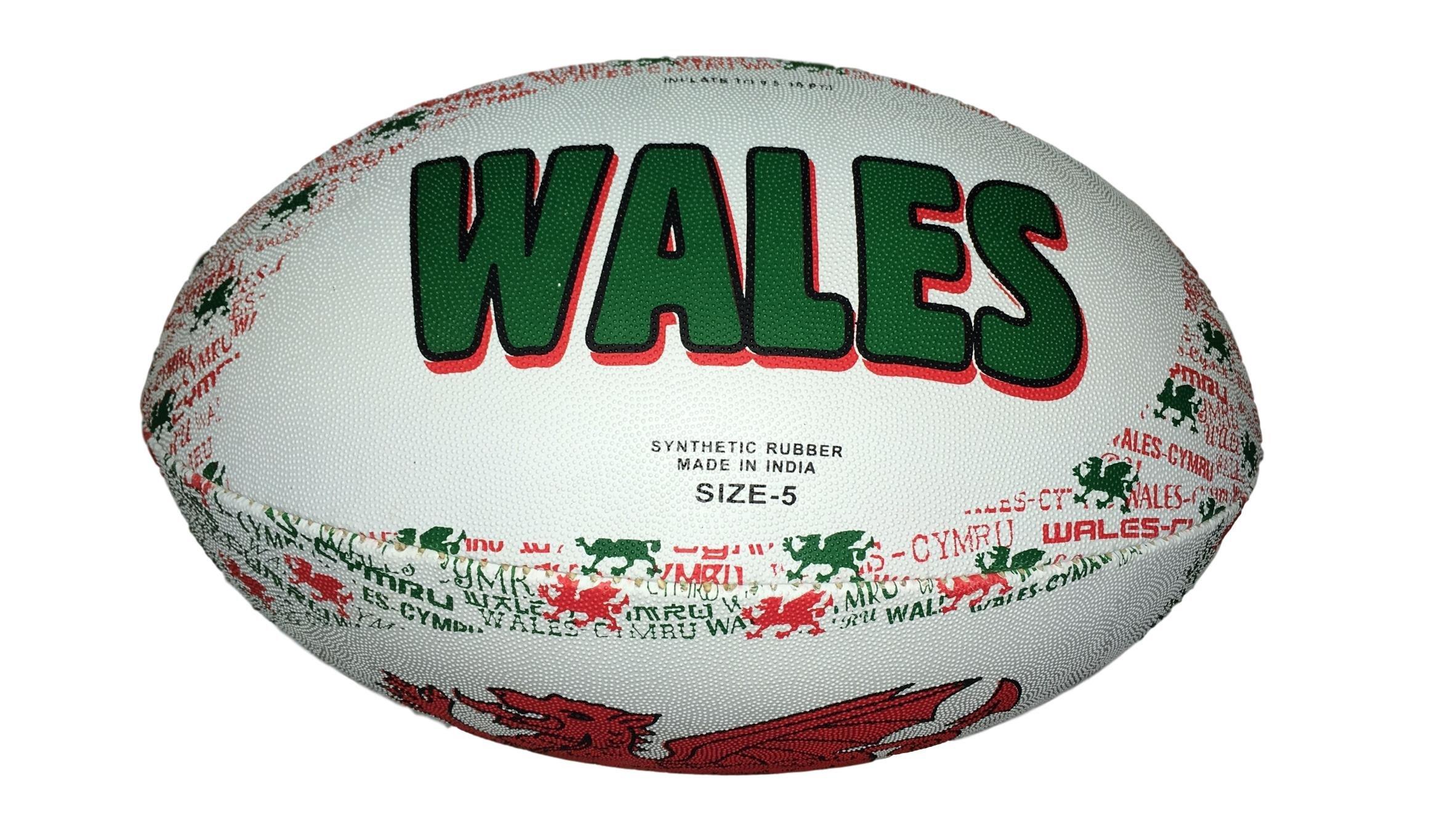Galés cosido a mano Balón de Rugby, color , tamaño mini: Amazon.es ...
