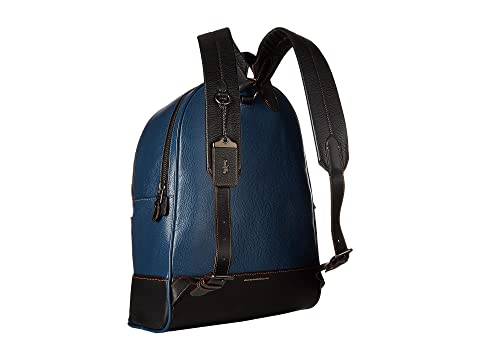 COACH League Backpack in Glovetan Pebble Dark Denim Factory Outlet alyACRdgke