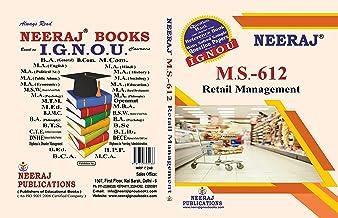 MS-612, Retail Management