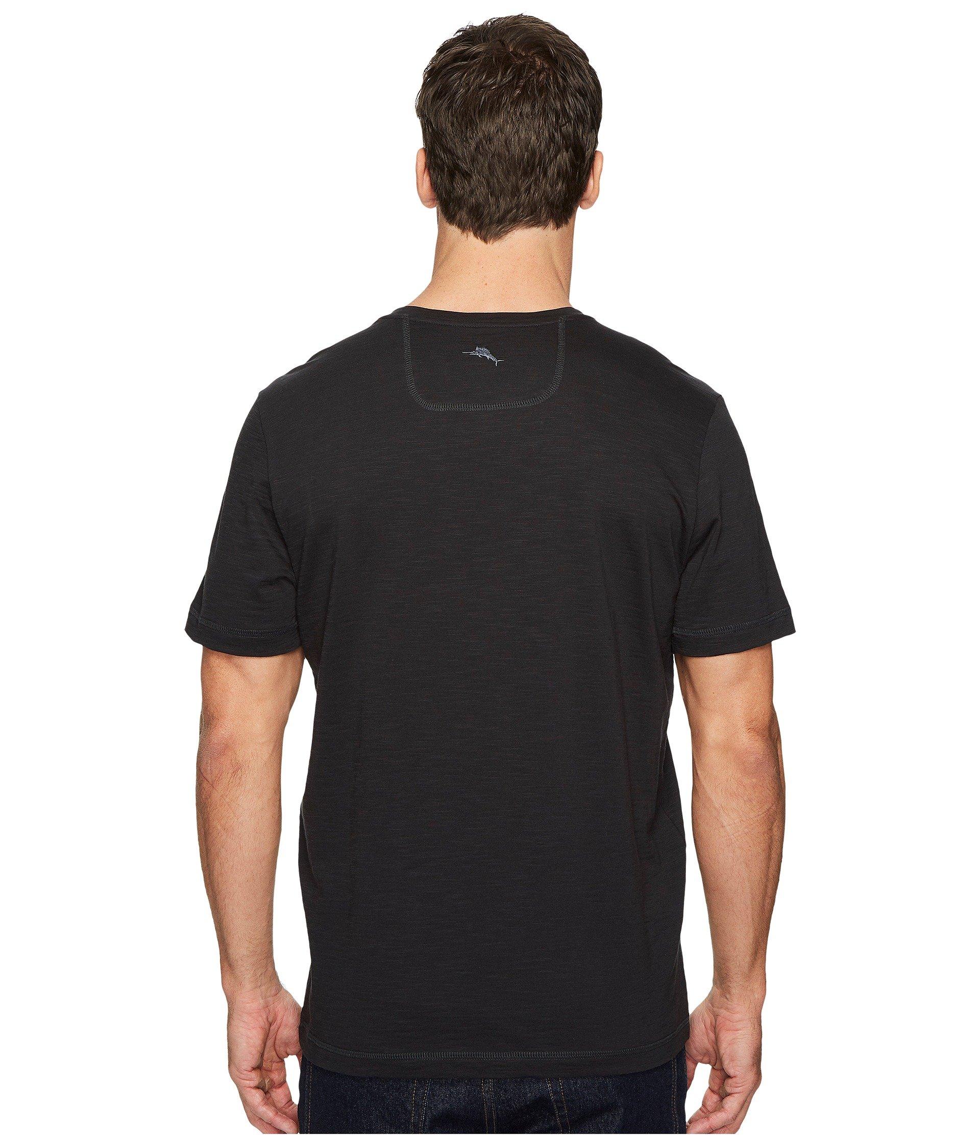 shirt Palms Portside Bahama neck V Tommy Black T EYwRx445