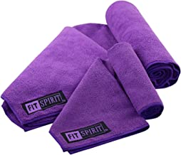 Fit Spirit Microfiber Yoga Towel and Hand Towel
