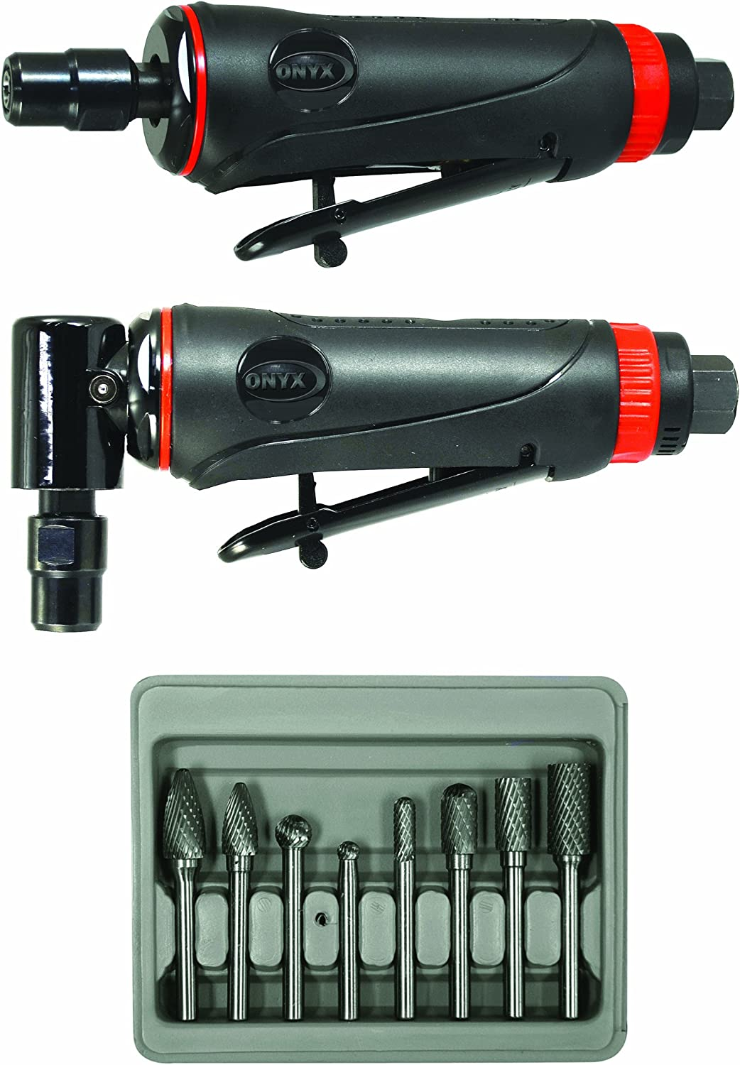 Astro Pneumatic Tool Max 65% OFF 219 ONYX 3pc 90° Grinder w Die Kit Houston Mall