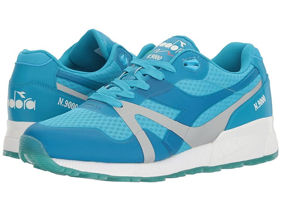 Diadora N9000 MM Bright (Blue Fluo) Athletic Shoes