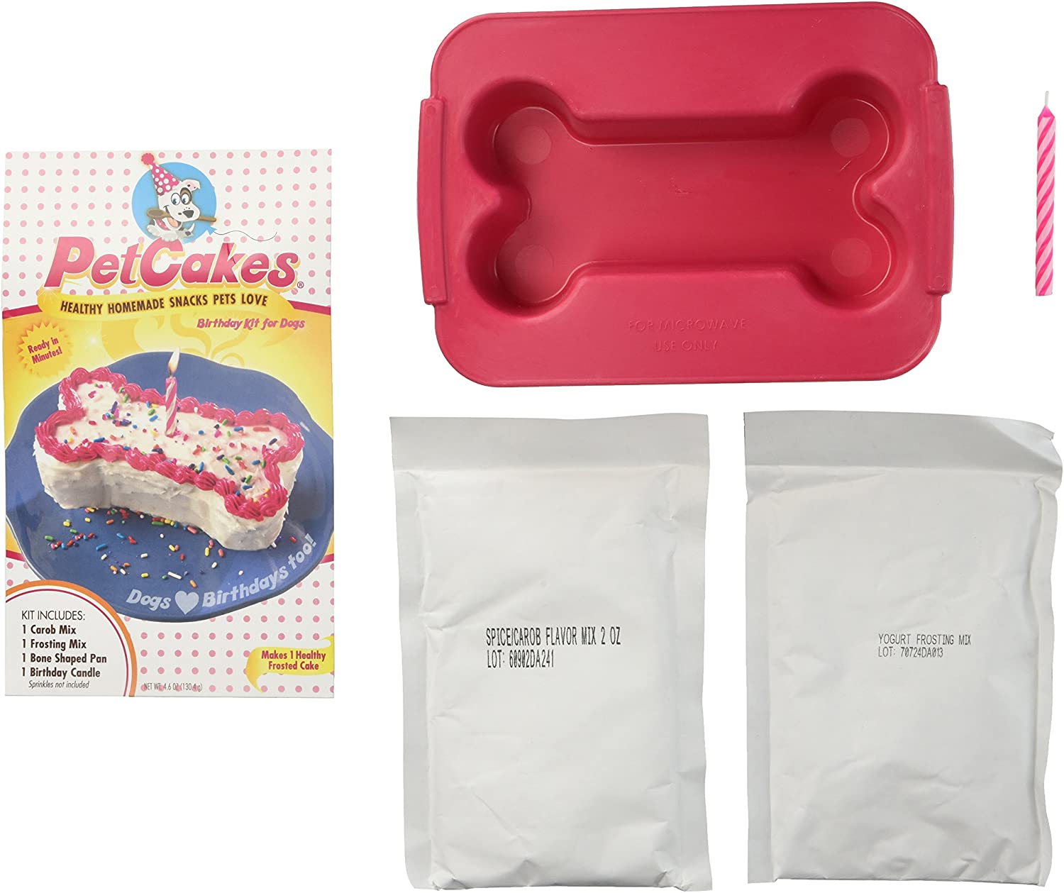 PetCakes Birthday Baltimore Deluxe Mall Cake for Dogs Kit