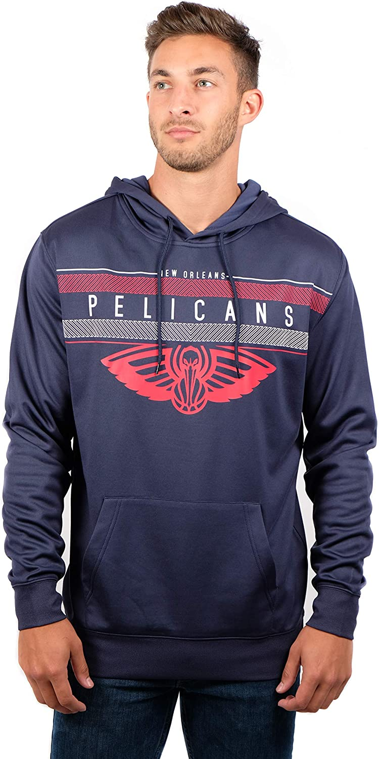 Mesa Mall Cheap super special price Ultra Game NBA New Orleans Pullover Mens Midtown Fleece Pelicans