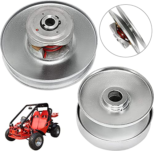 """lowest Mophorn 40 Series 8-16 HP popular Torque Converter Comet Clutch Mini Bike Comet Clutch Set with 1"""" Driving Clutch Plus 3/4"""" Driven Clutch Pulley Set Kit, discount 1 Inch Shaft with 1/4 Inch Flat Keyway outlet online sale"""