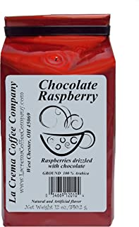 La Crema Coffee Chocolate Raspberry, 12-Ounce Packages (Pack of 2)