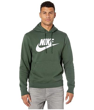 Nike NSW Club Hoodie Pullover Graphics (Galactic Jade/Galactic Jade/White) Men