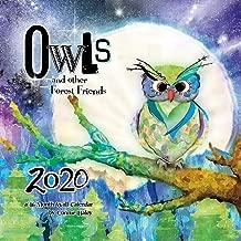 Owls - Connie Haley 2020 Wall Calendar