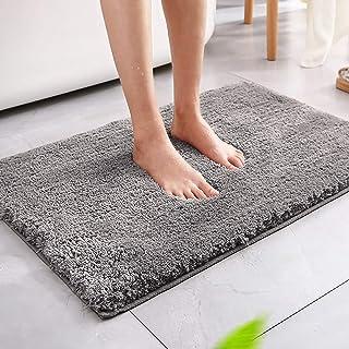 Magicfun Alfombra de baño, Alfombra Absorbente Antideslizante, Alfombra de baño de Microfibra esponjosa, alfombras de Duch...