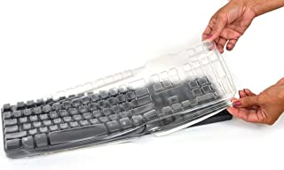 Viziflex Seels Keyboard COVER for Dell L100, SK8115, RT7D50 LATEX FREE cover protect keyboard from liquid spills, dust, di...